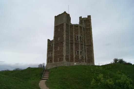 Orford, UK: Burg