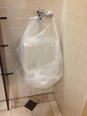 Sheraton Oklahoma City Downtown Hotel : Plastic Wrapped??? Yuck!