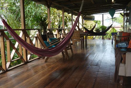 Panama's Paradise Saigoncito: Veranda