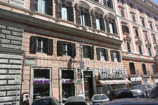 Hotel Orazia: Das Hotel ist im 5. Stock