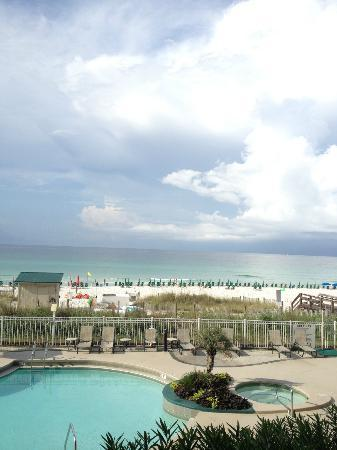 Sterling Sands Condominiums: view from balcony of 109