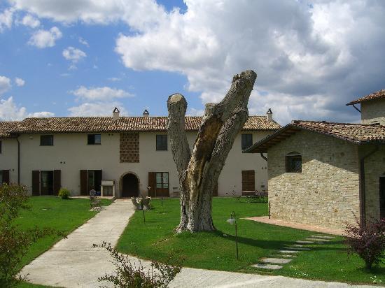 Borgo Spinara: parte della struttura