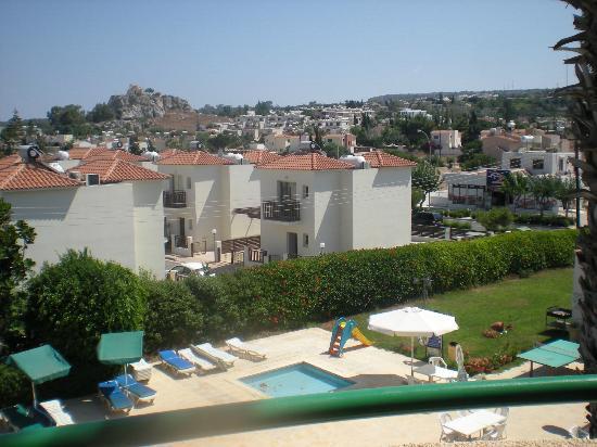 Mandalena ApartHotel: Nice balcony view