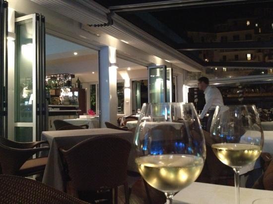 Restaurant Marina Grande: la veranda
