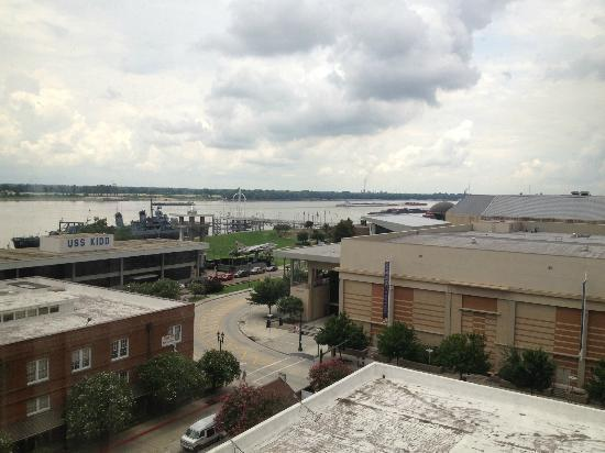 Belle of Baton Rouge Casino & Hotel: my view of the USS Kidd from my room