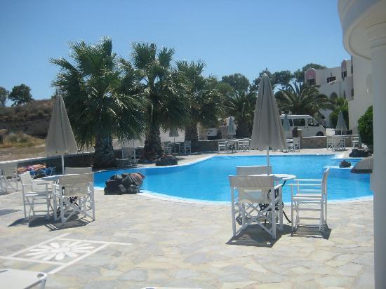 فيلا مانوس: Pool area 