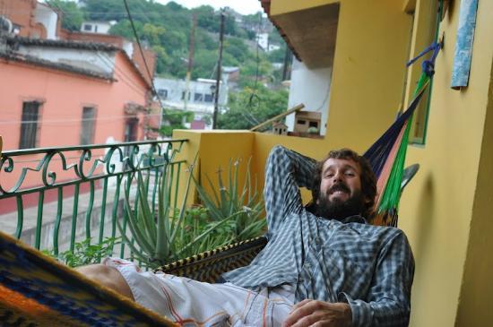Hostel Emilia: BALCÓN PRINCIPAL
