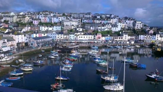 Quayside Hotel: Views of the harbour