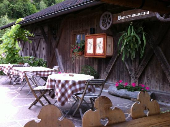 Gasthof zu Tschötsch: My favorite place on the hotel terrace