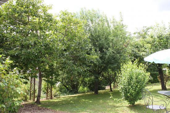 La Colline de Pechauriol : The garden area