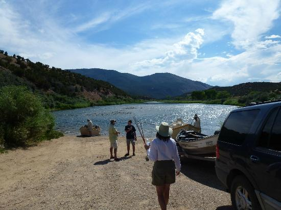 Flaming Gorge Resort : It is all about the fishing