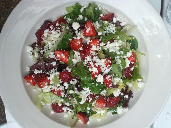 Vino124: Fruit and Feta Salad