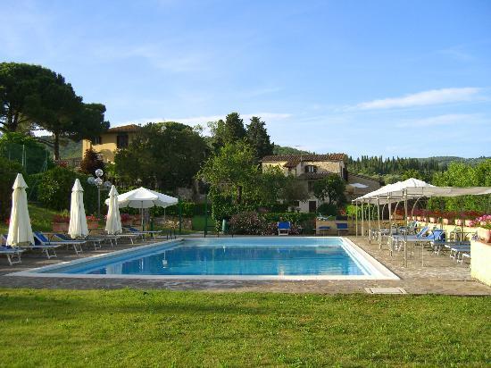 Piscina Foto Di Casafrassi Hotel Castellina In Chianti