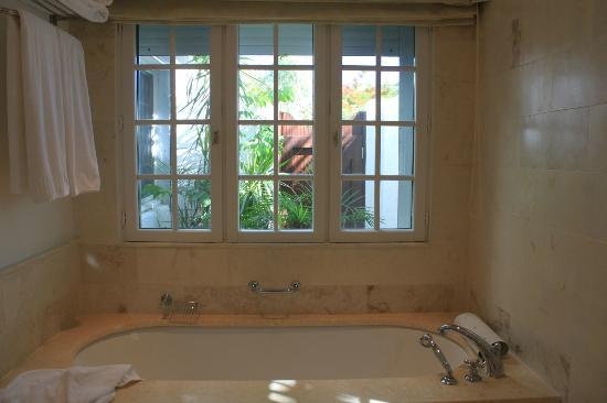 Belmond La Samanna: View from the bathroom