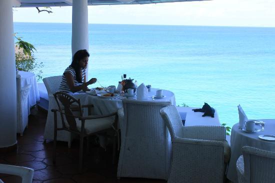 Belmond La Samanna: Breakfast