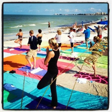 Tropical Beach Resorts: Complimentary Yoga on Sat and Sun Am