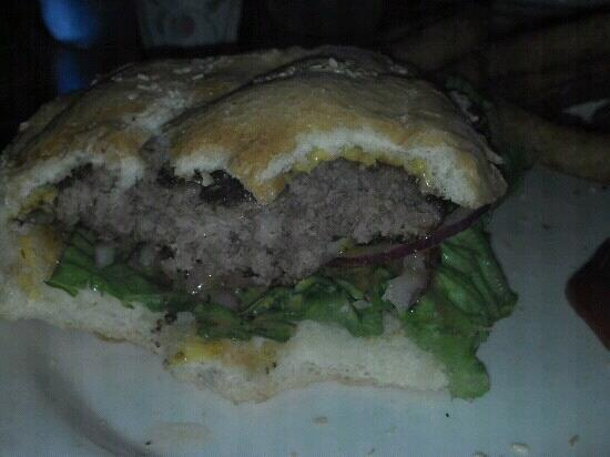 Alaska Nellie's Roadhouse: $11.00 cheeseburger with fries or onion rings handpatty
