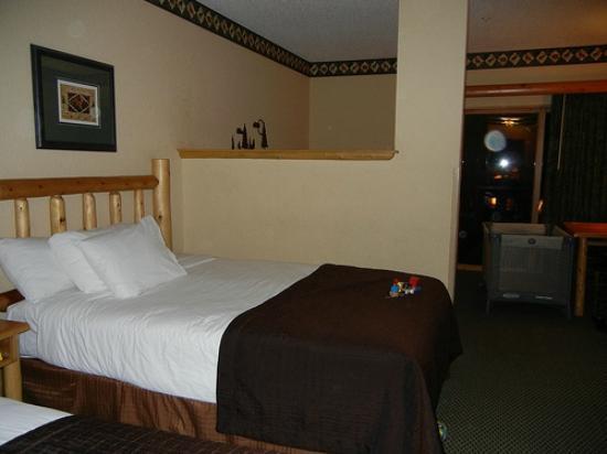جريت وولف لودج ترافيرس سيتي: Bedroom beds 