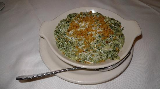 Vic & Anthony's Steakhouse - Las Vegas: Cream Spinach