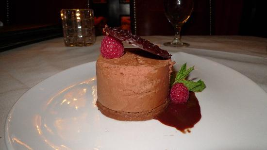 Vic & Anthony's Steakhouse - Las Vegas: Raspberry Mousse