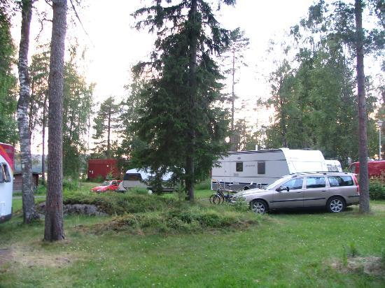 Camping Nyyssanniemi: Caravan area