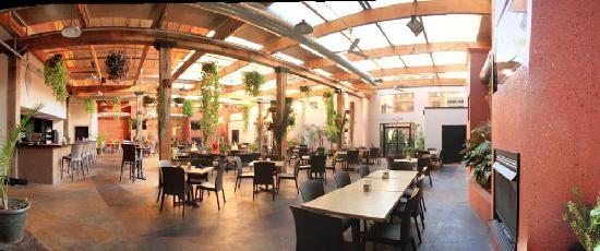 Nice Copia Urban Winery: Wine Garden Patio With Retractable Roof