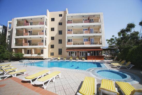 Pavlos Hotel - External View