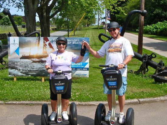 Segway of Newport: Outside Fort Adams