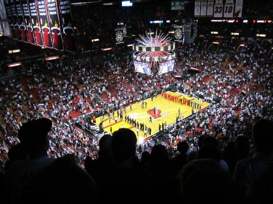 American Airlines Arena: Ready: Let's Go Heat!
