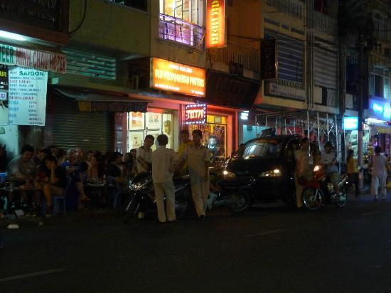 Hong Han Hotel: Bui Vien Street