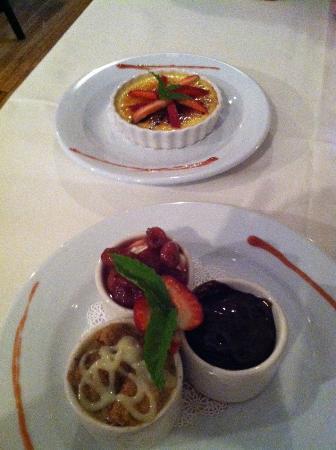 Elmwood at Sparks: Our desserts