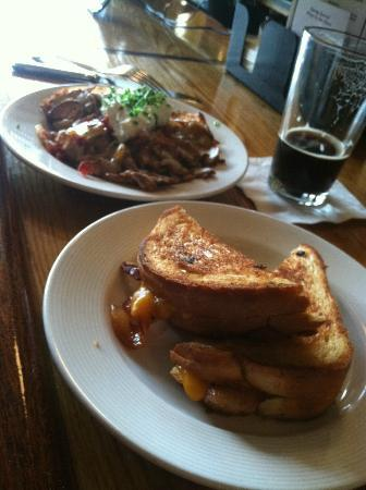 The Light Well: grilled cheese and loaded roasted potatoes