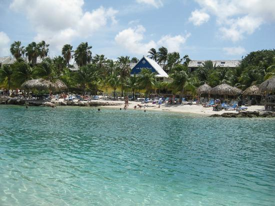 The Royal Sea Aquarium Resort: view of beach right across from Royal Sea Aquarium resort