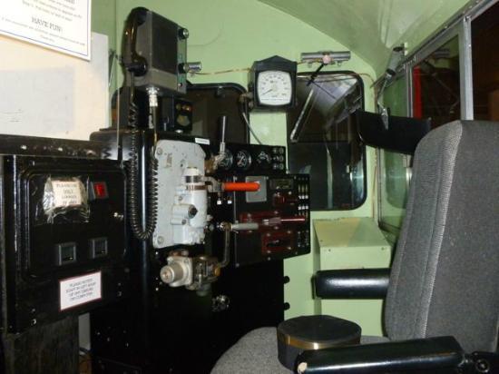 Revelstoke Railway Museum: Diesel/electric cab simulator