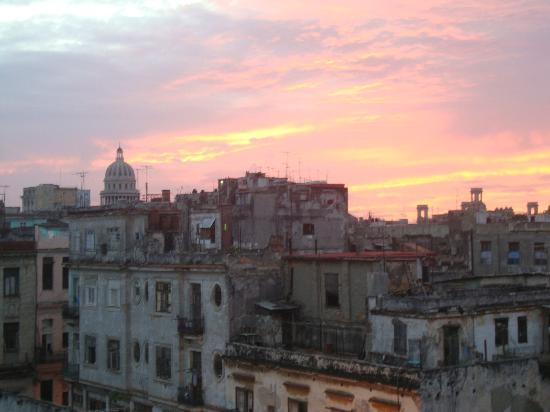 La Casa De La Calle Luz Bed & Breakfast : panorama dalla terrazza sul tetto