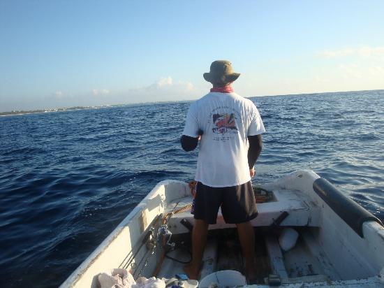 Fishing with Roberto Navarro : Magnifique paysage!