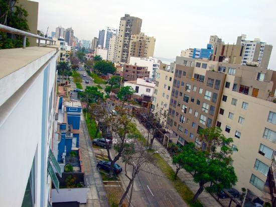 Hotel Runcu Miraflores: top floor view