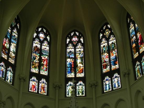 Cathedral of the Immaculate Conception: windows