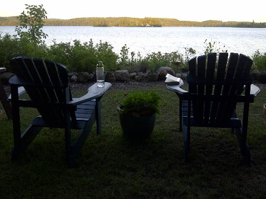 Northern Edge Algonquin: a great place for quiet contemplation or a glass of wine!