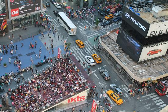 View From Room Times Square Picture Of Doubletree