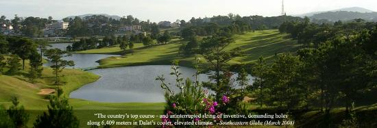 Dalat Palace Golf Club: Lake 16 and 10