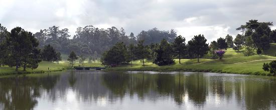 Dalat Palace Golf Club: Dalat Palace lake