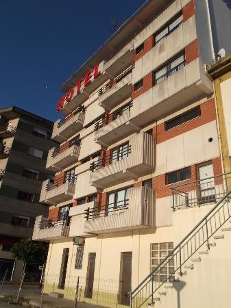 Hotel Orfeo: Fachada hacia el Río