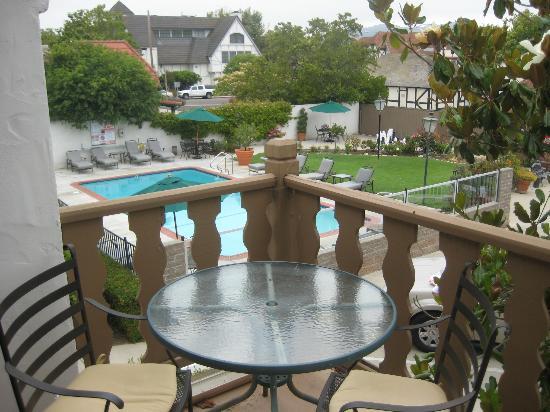 Royal Copenhagen Inn : View form the balcony