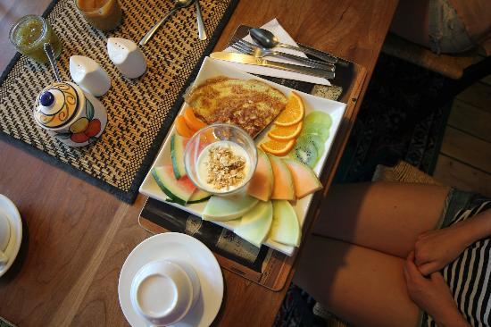 Bed & Breakfast L'Heure Douce : Omelet delight
