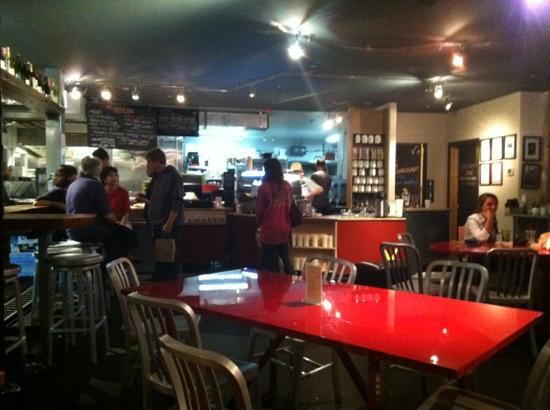 Victoria's Espresso Wine Bar: inside @ victoria's