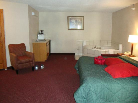 Comfort Inn at the Zoo: Masterbed