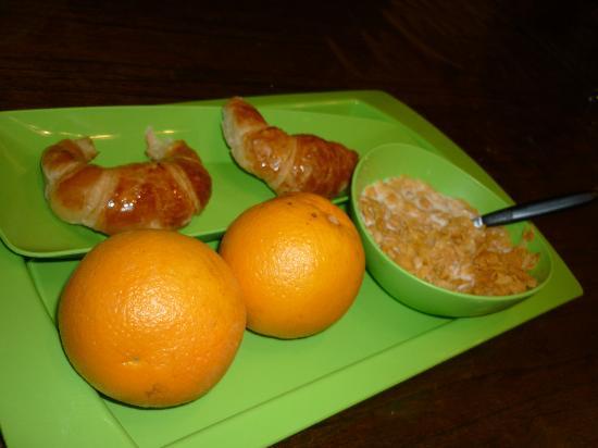 Limehouse Youth Hostel: Desayuno