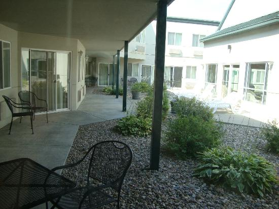 Comfort Inn at the Zoo : Courtyard view