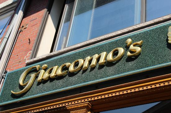 Giacomos On Hanover Street Picture Of Giacomos Restaurant